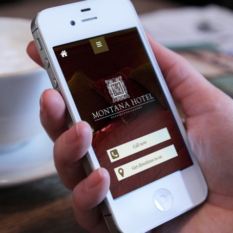 Montana Hotel website design