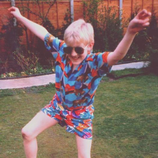 Steve Reed, aged 10
