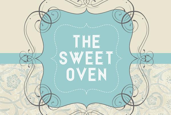 The Sweet Oven logo design